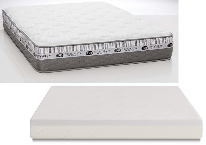 Brooklyn beddingthese two mattresses are very different for Brooklyn bedding vs tuft and needle