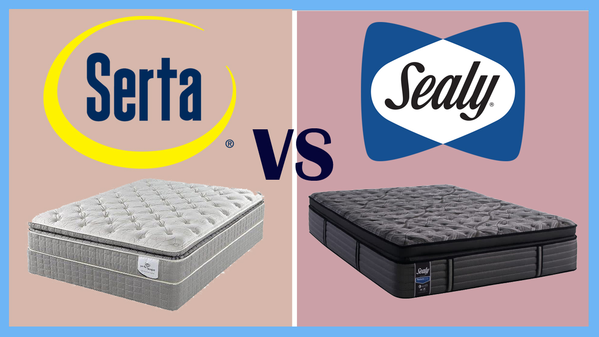 Serta Vs Sealy Mattress Beddingvs