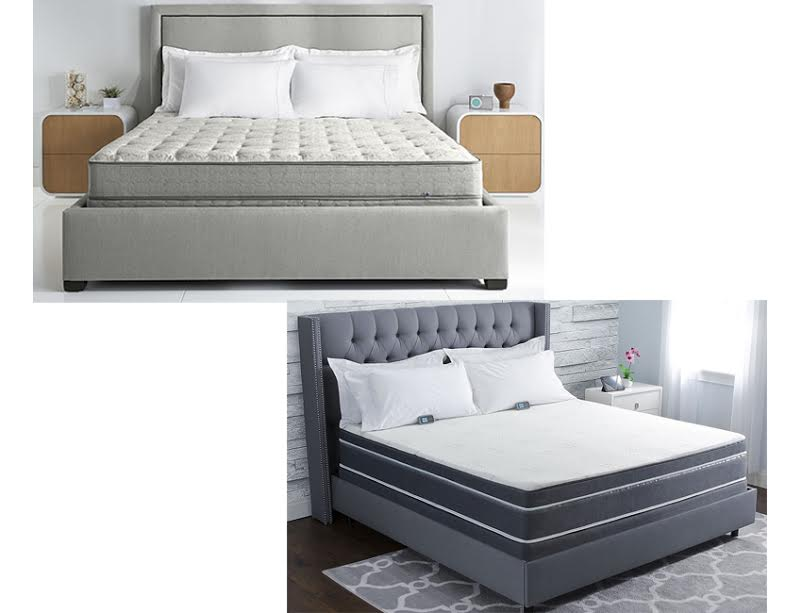 "Except for the C-2 Classic Series model, all Sleep Number mattresses come with at least one layer of comfort foam that rests above the air chamber(s) and below the mattress top. Sleep Number offers a variety of different comfort foam layers in a range of densities and thicknesses from "" inches thick to ."