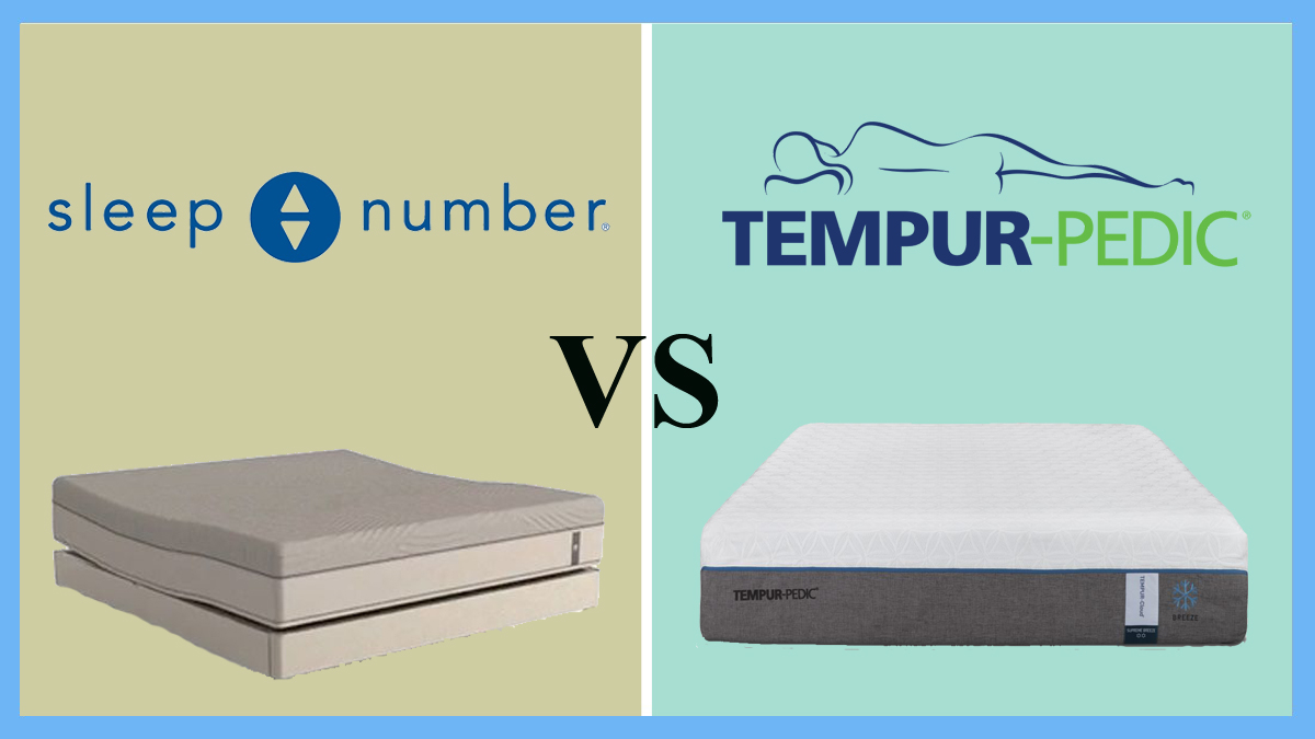 Sleep Number M7 Vs Tempurpedic Beddingvs