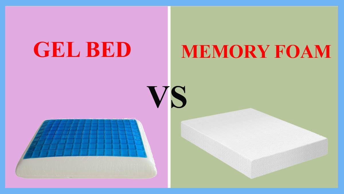 Gel Bed vs Memory Foam   Beddingvs
