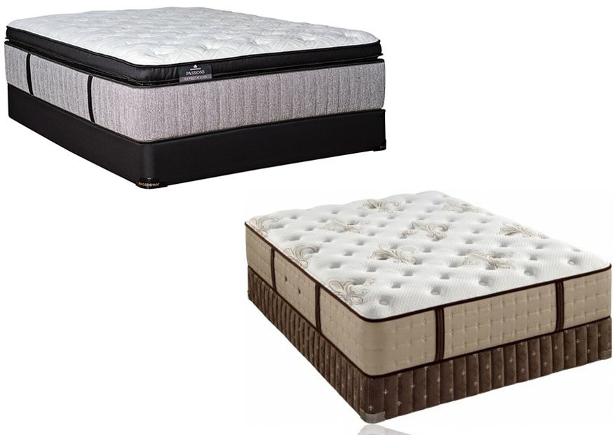 Beautyrest Black Vs Stearns And Foster 1500 Trend Home