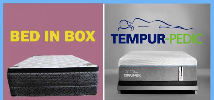 Bed In A Box Vs Tempurpedic Beddingvs